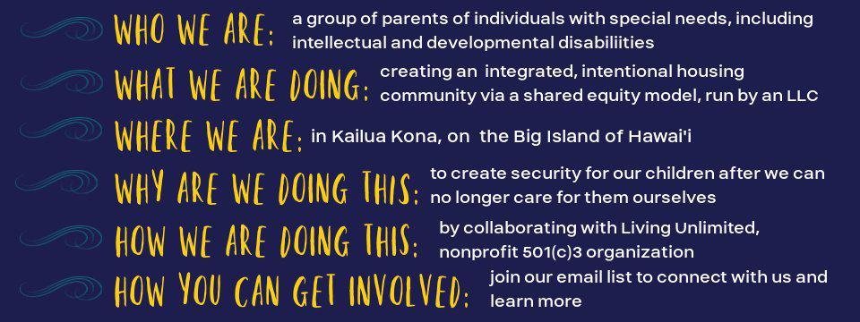 Kokua Kona infographic